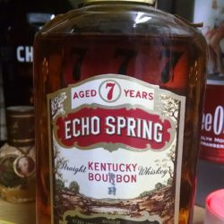 echo springs 7 year bourbon 1967 front