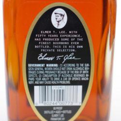 elmer_t_lee_bourbon_binnys_single_barrel_back_label