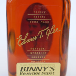 elmer_t_lee_bourbon_binnys_single_barrel_front_label