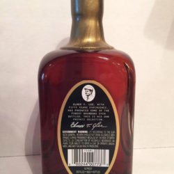 elmer_t_lee_bourbon_civic_center_liquor_single_barrel_back