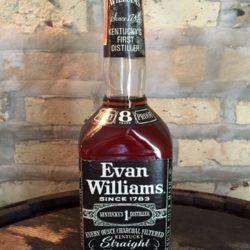 evan williams 8 year bourbon 1975 front