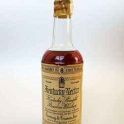 geeting & fromm kentucky nectar bourbon 8 year 1967 front