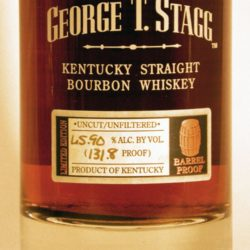 george t. stagg bourbon 2005 lot a kentucky only - front label