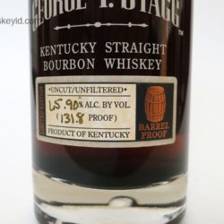 george t. stagg bourbon 2005 spring lot b - front label