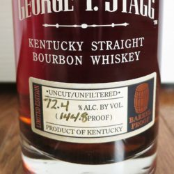 george t. stagg bourbon 2007 - front label