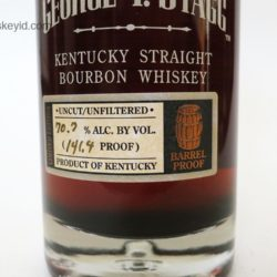 george t. stagg bourbon 2009 - front label