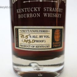 george t. stagg bourbon 2010 - front label
