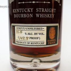 george t. stagg bourbon 2012 - front label