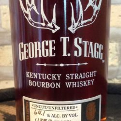 george t. stagg bourbon 2013 - front label