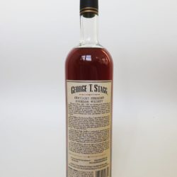 george t. stagg bourbon 2014 back