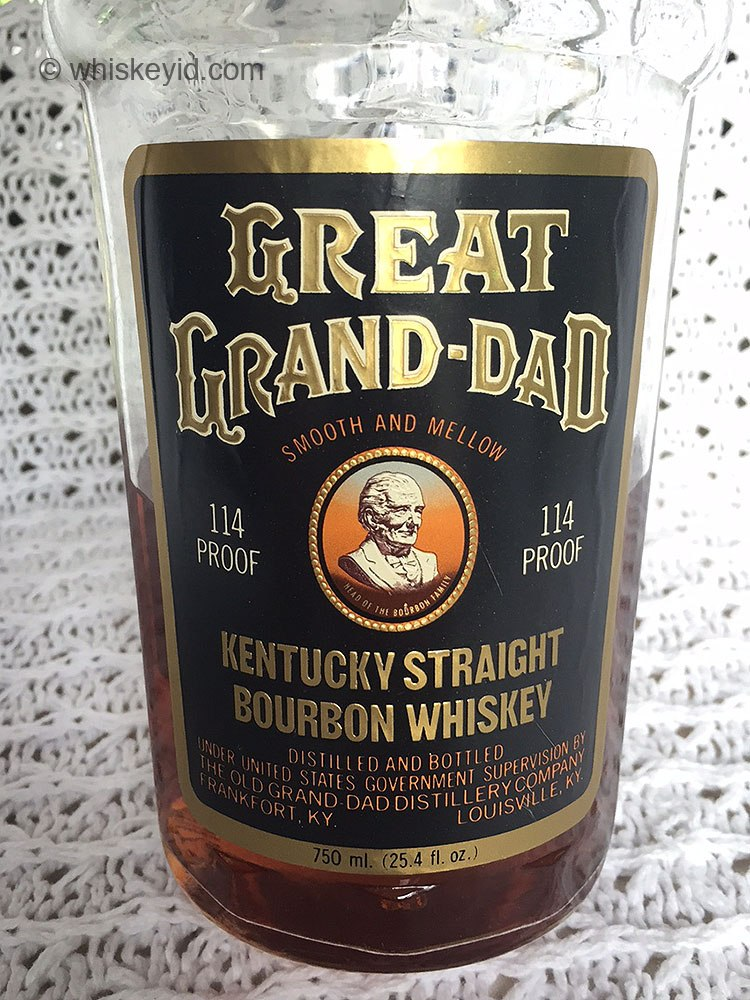 great grand dad bourbon 114 proof front label