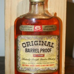 heaven hill original barrel proof bourbon 1972 - front