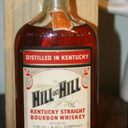 hill and hill bourbon 1954 - front