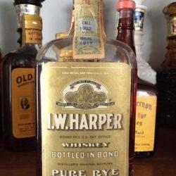 i.w. harper bonded 1932 front