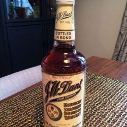j.w. dant bonded bourbon 1982 front