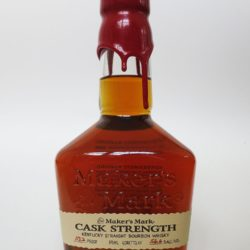 maker's mark cask strength 375ml - front