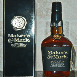 maker's mark select 95 proof_black label 1992 front