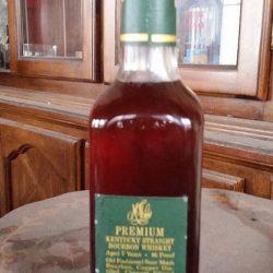 marshall fields premium bourbon 1976 back