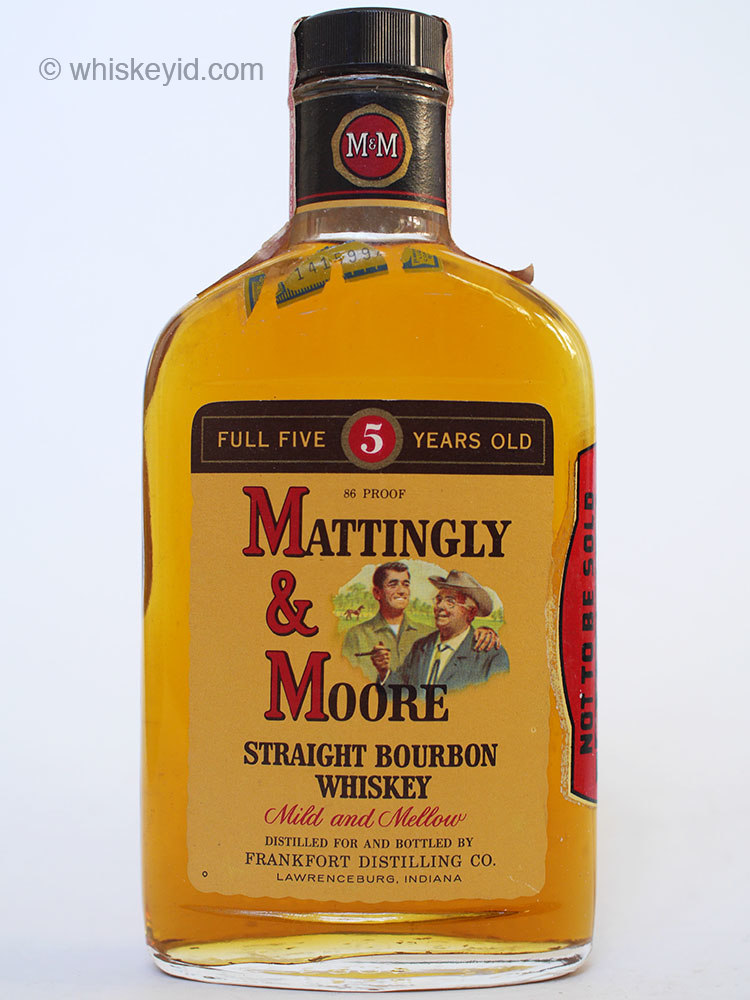 mattingly_and_moore_5_year_86_proof_bourbon_half_pint_1963_front
