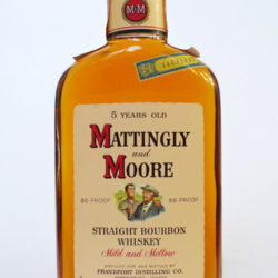 mattingly_and_moore_5_year_86_proof_bourbon_half_pint_1966_front