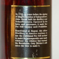 michters_101_1983_back_label