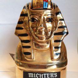 michter's tutankhamun decanter front