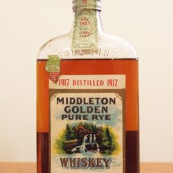 middleton golden rye whiskey prohibition - front