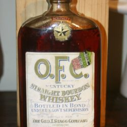 o.f.c. bourbon prohibition era 1926 - front