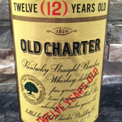 old_charter_12_year_bourbon_1967_front_label