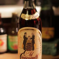 old commonwealth bourbon 10 year van winkle front