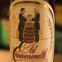 old commonwealth bourbon 10 year van winkle front label