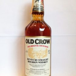 old crow bourbon 80pf 1983 front