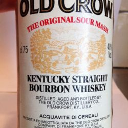 old_crow_80pf_1983_front_label