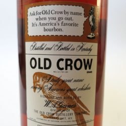 old_crow_86pf_1964_back_label