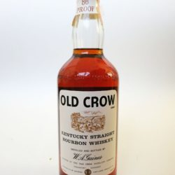 old crow 86 proof bourbon 1964 front