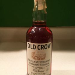 old_crow_bonded_bourbon_1960_1965_front