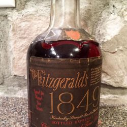 old fitzgerald 1849 bourbon 10 year front label