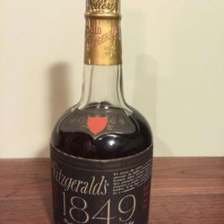 old fitzgerald 1849 bourbon 1970 front