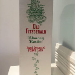 old_fitzgerald_blarney_bottle_decanter_bonded_bourbon_1964-1970_box_front