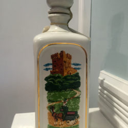 old_fitzgerald_blarney_bottle_decanter_bonded_bourbon_1964-1970_front