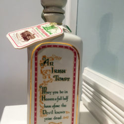 old_fitzgerald_blarney_bottle_decanter_bonded_bourbon_1964-1970_side1