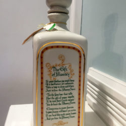 old_fitzgerald_blarney_bottle_decanter_bonded_bourbon_1964-1970_side2