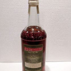 old fitzgerald bonded bourbon 6 year 1955 back