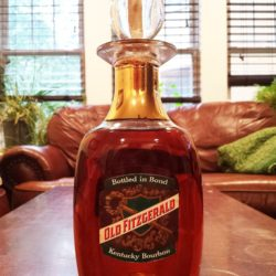 old fitzgerald bonded decanter 1960 front