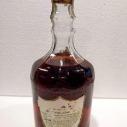 old fitzgerald bourbon bonded diamond decanter 1951 back