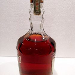 old_fitzgerald_bonded_diamond_decanter_1951_side1