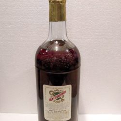 old fitzgerald bonded bourbon half gallon 1960 back