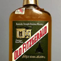 old fitzgerald bonded bourbon pint 1971 front