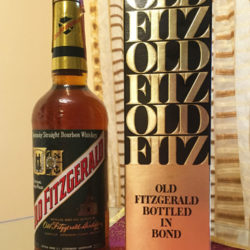 old_fitzgerald_bourbon_export_early_1980s_front