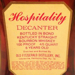old_fitzgerald_hospitality_decanter_back_label